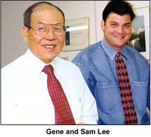 Gene and Sam Lee